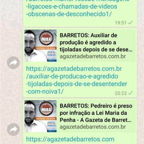 TECNOLOGIA: WhatsApp apenas sete minutos para se arrepender