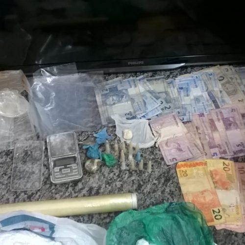 BARRETOS: Apreensão de drogas no condomínio Turin