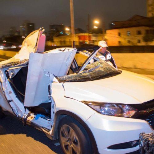 SÃO PAULO: Morre juíza atingida por concreto em acidente