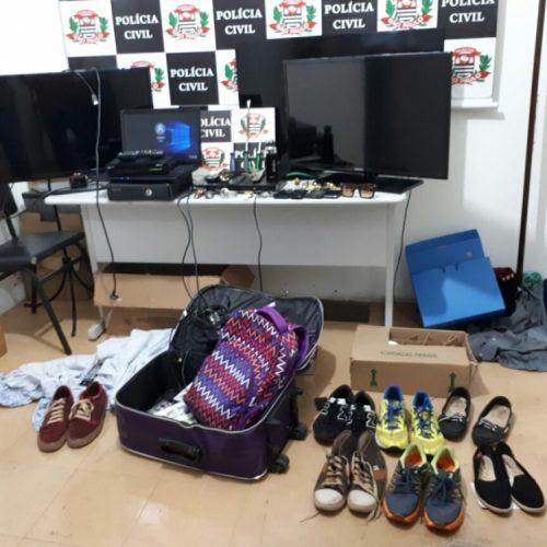 REGIÃO: Dois arrombadores de casas são presos pela DIG