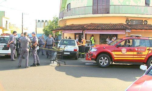 REGIÃO: Borracheiro é executado com 5 tiros dentro do carro