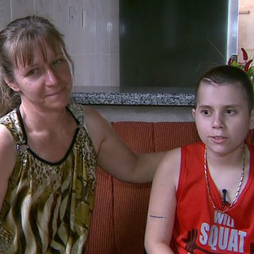 REGIÃO: Notebook comprado com 'vaquinha' para menino cego e com câncer é furtado