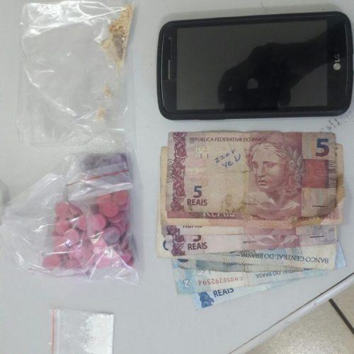REGIÃO: Homem é preso com ecstasy em Rio Preto