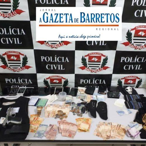 BARRETOS: Com apoio do GOE e especializadas da Militar, Policia Civil de Barretos prende quadrilha assaltante de caminhões de carga
