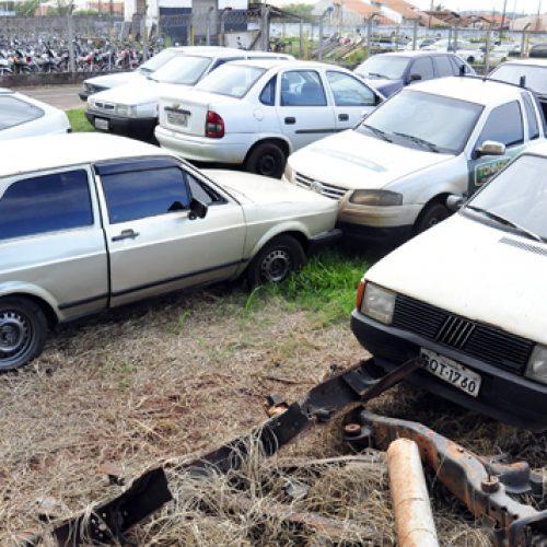 BARRETOS: Ladrões invadem pátio da Secretaria de Ordem Pública, arrombam veículos e furtam objetos