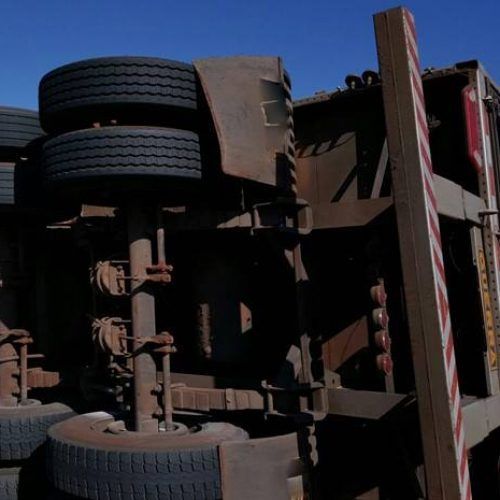 FATALIDADE: Professora morre em tombamento de caminhão na Rodovia Assis Chateaubriand