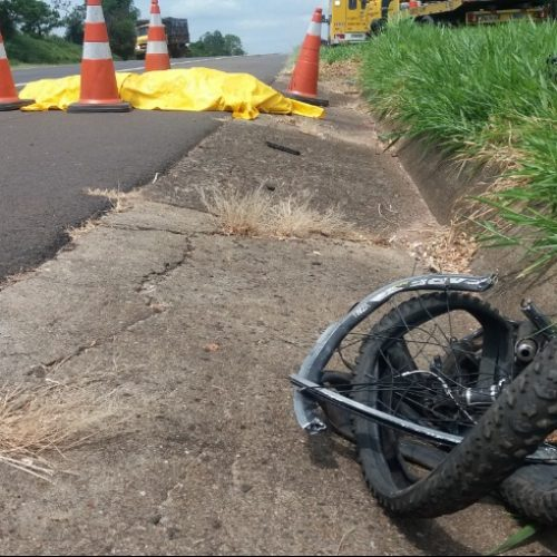 REGIÃO: Ciclista morre após ser atropelado por caminhão em São Carlos