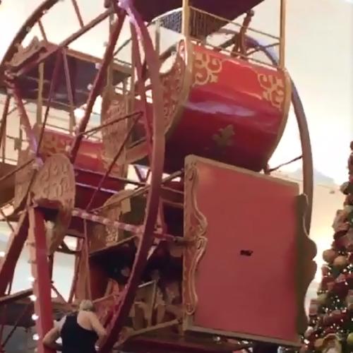 REGIÃO: Crianças ficam presas em cabine de roda gigante em shopping de Rio Preto