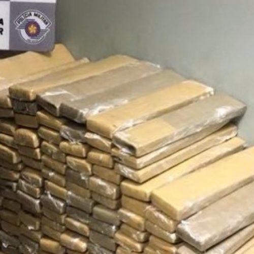 REGIÃO: Polícia Rodoviária apreende 530 quilos de maconha
