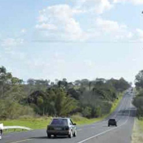 BARRETOS: Desconhecidos derrubam poste de radar na Rodovia Assis Chateaubriand