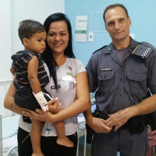 BARRETOS: Policial Militar de FOLGA salva vida de criança em clube da cidade