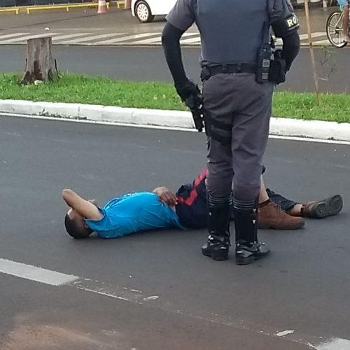 BARRETOS: Policiais Militares realiza cerco e prende indivíduos na Frade Monte
