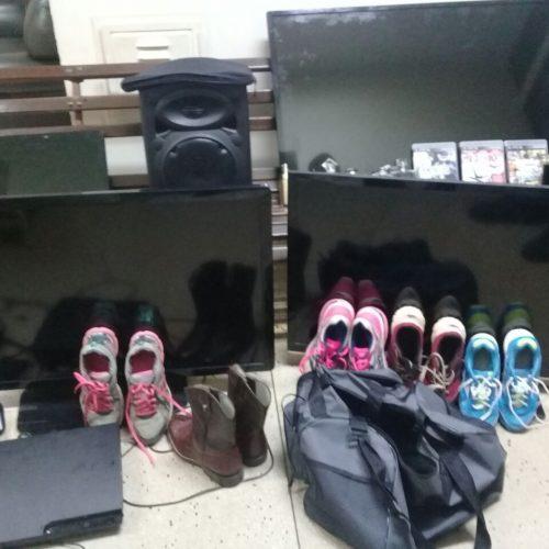 BARRETOS: Policia militar apreende objetos furtados no Condomínio Astúrias