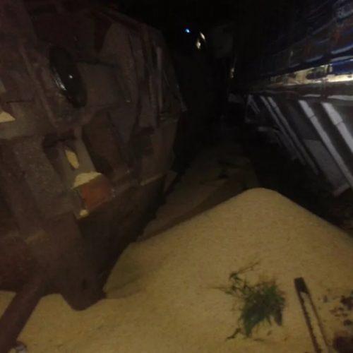 REGIÃO: Trem descarrila no centro de Catanduva