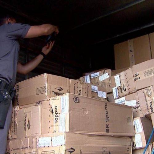 REGIÃO: Polícia Militar recupera carga roubada avaliada em R$ 60 mil