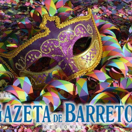 BARRETOS: Terá 3 dias de Carnaval de Rua