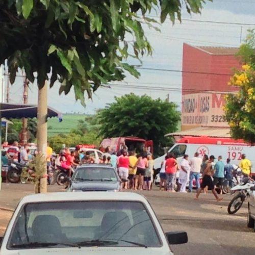 MATÉRIA COMPLETA: Policiais Militares frusta roubo de Ladrões no Mundão de Koisas no bairro Cecap