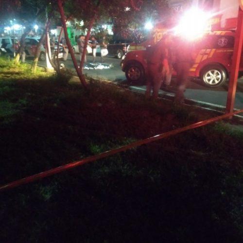 REGIÃO: APÓS DISCUSSÃO COM GERENTE POLICIAL CIVIL É MORTO EM TROCA DE TIROS COM PM