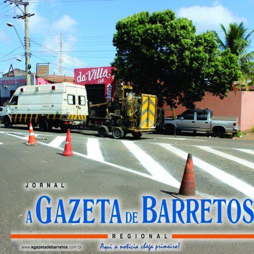BARRETOS: Prefeitura realiza mudança de sentido de direção na Avenida Gonçalves
