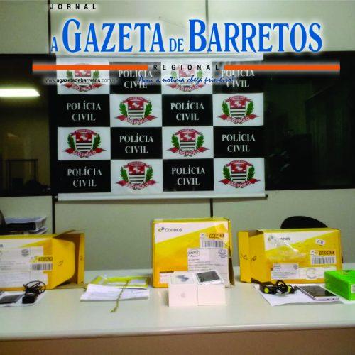 BARRETOS: Policia Civil prende quadrilha que aplicava estelionatos e usava identidades falsas para comprarem produtos pela internet