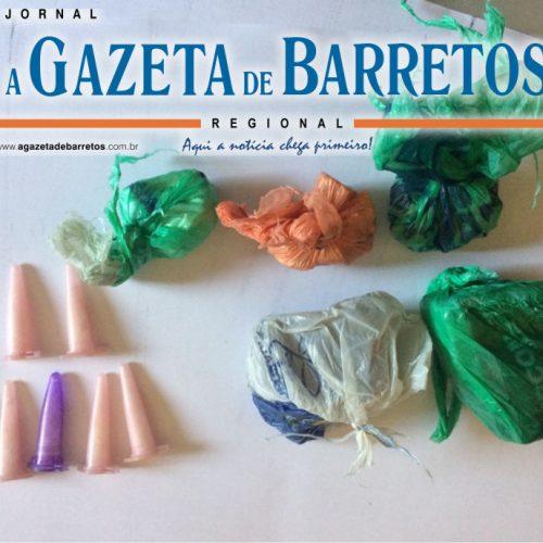 BARRETOS: Menor é preso com drogas que seriam vendidas nos Predinhos