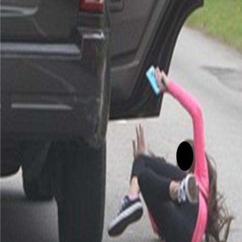 BARRETOS: Para se livrar da morte, mulher se joga de dentro do carro do ex, que ainda tentou lhe atropelar