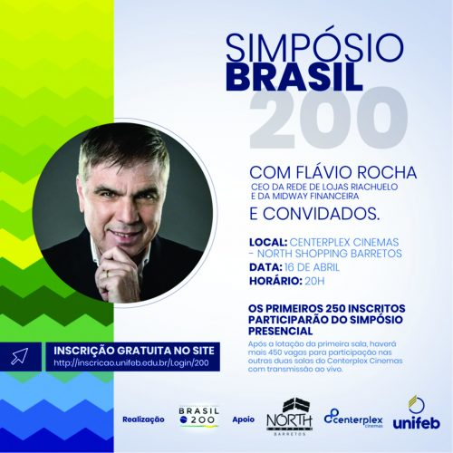North Shopping Barretos sedia Simpósio Brasil 200 com CEO da Riachuelo