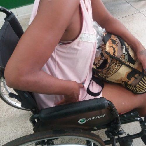 REGIÃO: Cadeirante grávida é presa acusada de tentar furtar roupa e brinco em shopping