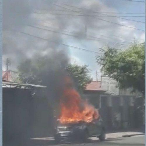 REGIÃO: CA  Ribeirão e Franca Discussão termina com comerciante morto a tiros e carro incendiado