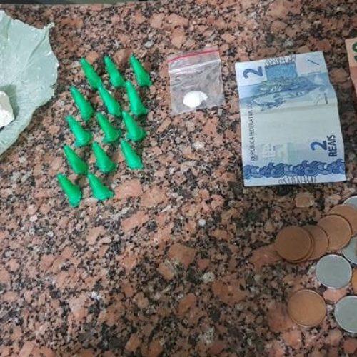 SEVERINA: Olimpiense da COHAB I é preso vendendo drogas perto de Álvora/Severínia