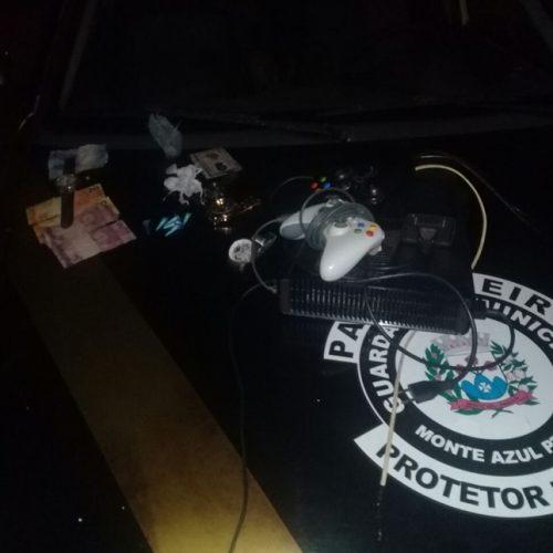 MONTE AZUL PAULISTA: Guarda Municipal recebe denúncia e flagra traficante do São Judas Tadeu