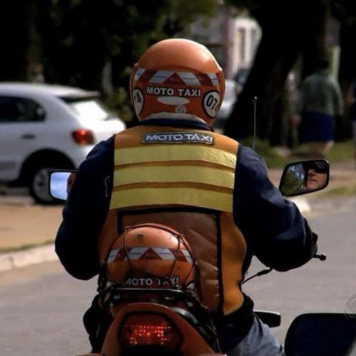 BARRETOS: Operação entre Militares Agentes de trânsito e fiscais flagra homem trabalhando clandestinamente em agência de moto taxi