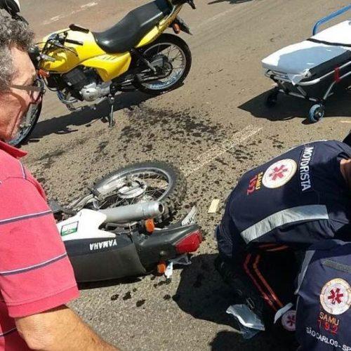 REGIÃO: Desrespeito à sinalização causa grave acidente