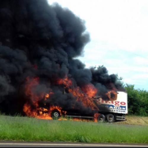 REGIÃO: ATENÇÃO – Sobre a notícia que está circulando sobre o Caminhão do SAVEGNAGO.