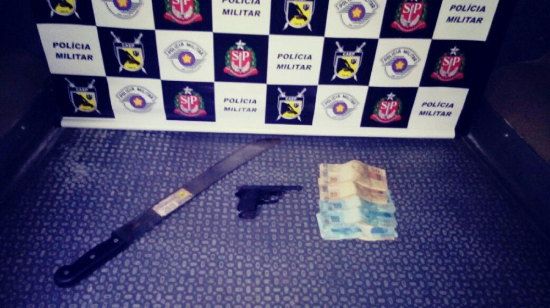 REGIÃO: Idoso mata o primo após levar golpe de facão