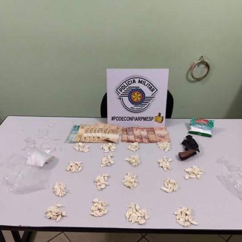 JABORANDI: Casal é preso por tráfico e associação ao tráfico de drogas