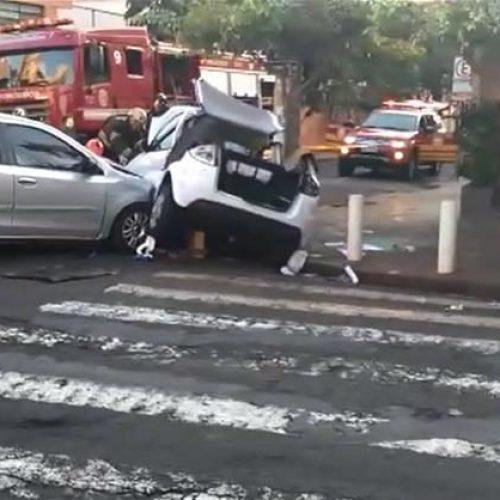 REGIÃO: Três mulheres ficam feridas em acidente
