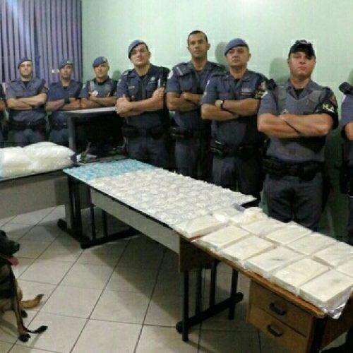BARRETOS: Droga avaliada em mais de um milhão de reais é prendido pela P.M