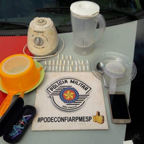 BARRETOS: Equipe Bravo, prende três por tráfico de drogas