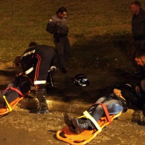 REGIÃO: No dia do aniversário, jovem fica ferida após sofrer acidente