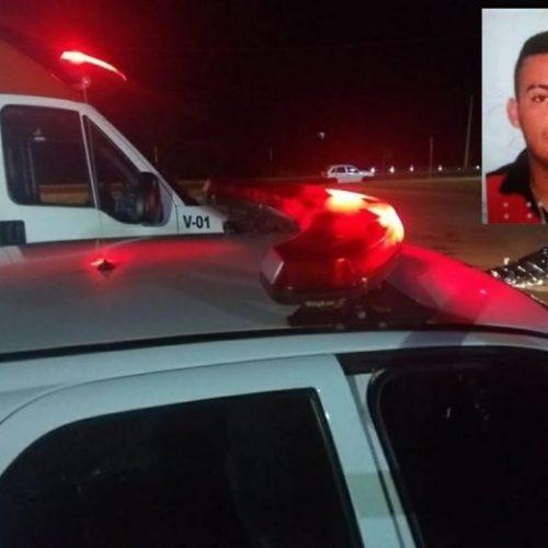 REGIÃO: Jovem morre atropelado por motocicleta