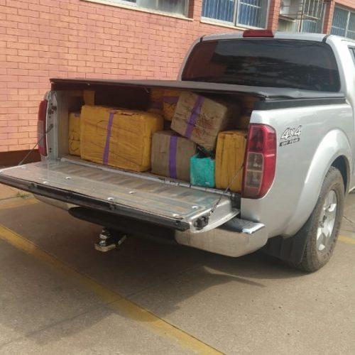 REGIÃO: PRF apreende 500 quilos de maconha na BR-153
