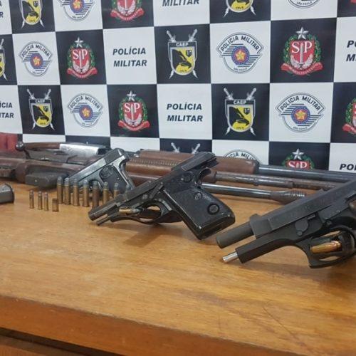 REGIÃO: Homem é preso após atirar contra a esposa