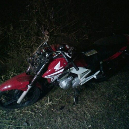 OLÍMPIA: Jovem de apenas 21 anos morre ao colidir violentamente moto contra árvore