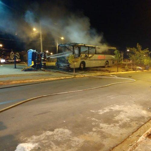 Olímpia: Noite de terror com 15 ônibus e 10 carros incendiados