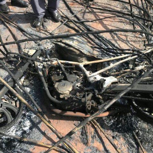 REGIÃO: Homem morre após ficar gravemente ferido ao tentar apagar incêndio de moto