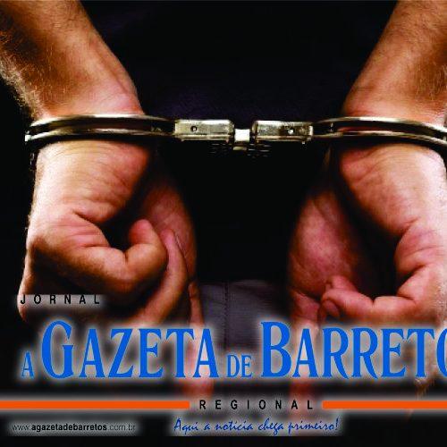 BARRETOS: Homem é preso no Jardim Califórnia, após furtar cigarros e dinheiro em estabelecimento comercial