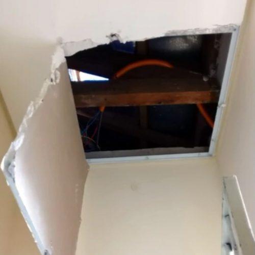 REGIÃO: Suspeito foge da delegacia pelo telhado após ser preso