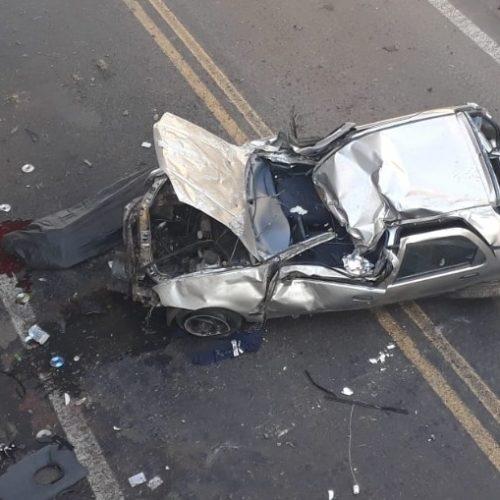 REGIÃO: Homem morre após carro despencar de viaduto na Washington Luís