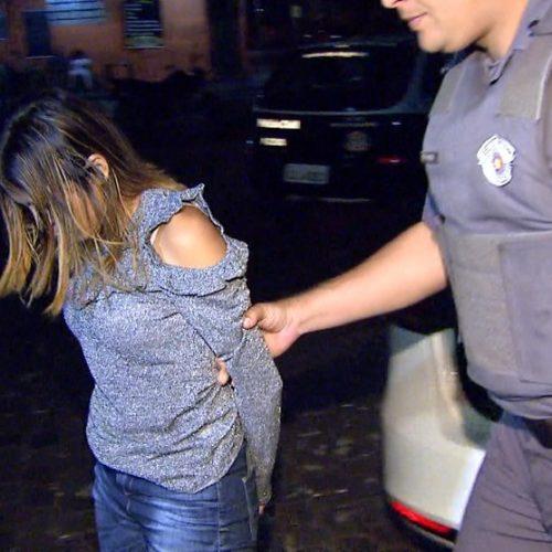 REGIÃO: Mulher é presa por suspeita de planejar assalto com o ex à casa do namorado